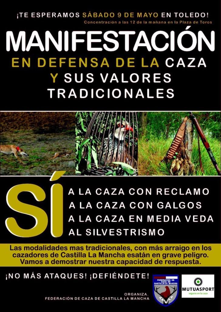 cartel_manifestacion_si_caza