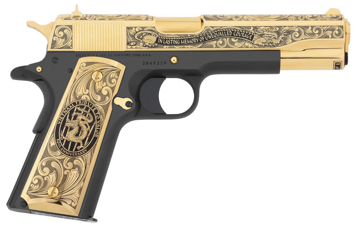 Colt government vietnam tribute to valor edici n limitada - Pistola para lacar ...